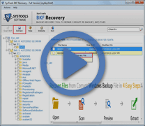 BKF file recovery tool